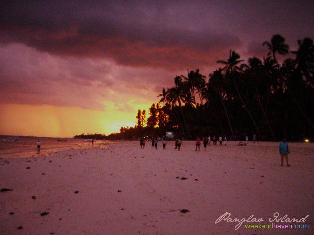 Sunset at Panglao Island, Bohol