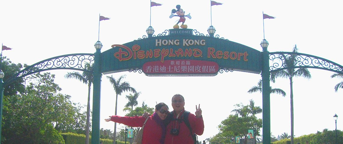 Honeymoon in Hong Kong