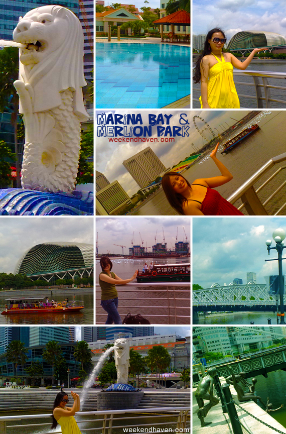 Marina Bay | Merlion Park | Esplanade | Grandstand & The Float | Singapore Flyer