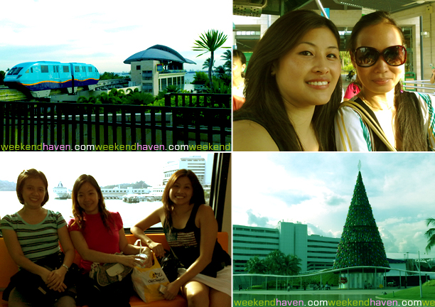 Vivo City to Sentosa Island