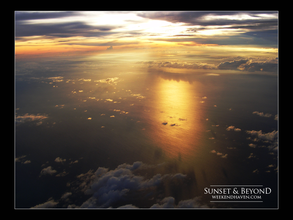 Sunset & Beyond | Sky Shot from Boracay to Manila Flight