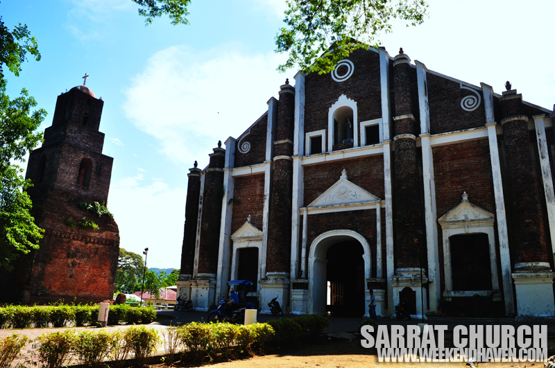 Sarrat Church  (Sta. Monica Church) Ilocos Norte