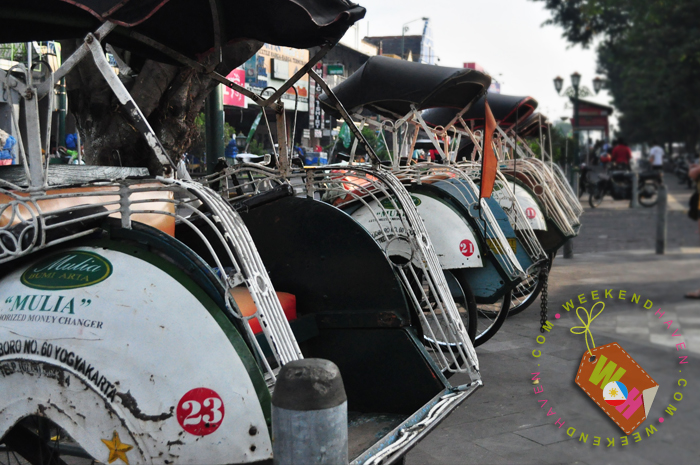 trishaw or becak