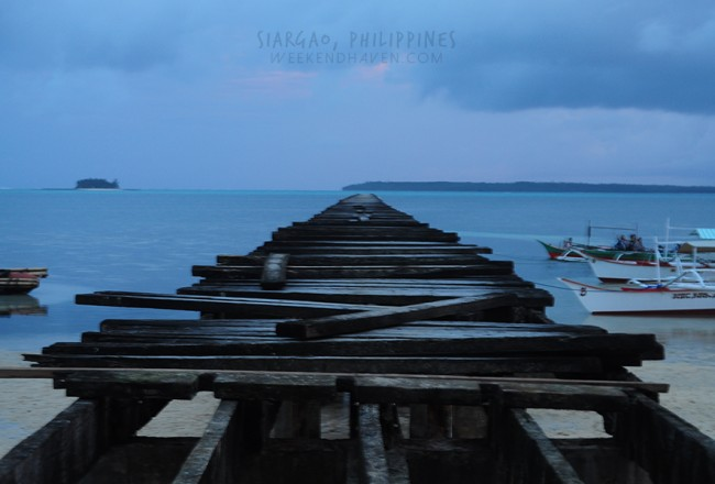 General Luna Port Boardwalk, Siargao