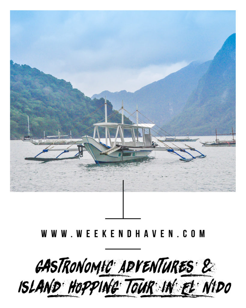 Gastronomic Adventures & Island Hopping Tour in El Nido