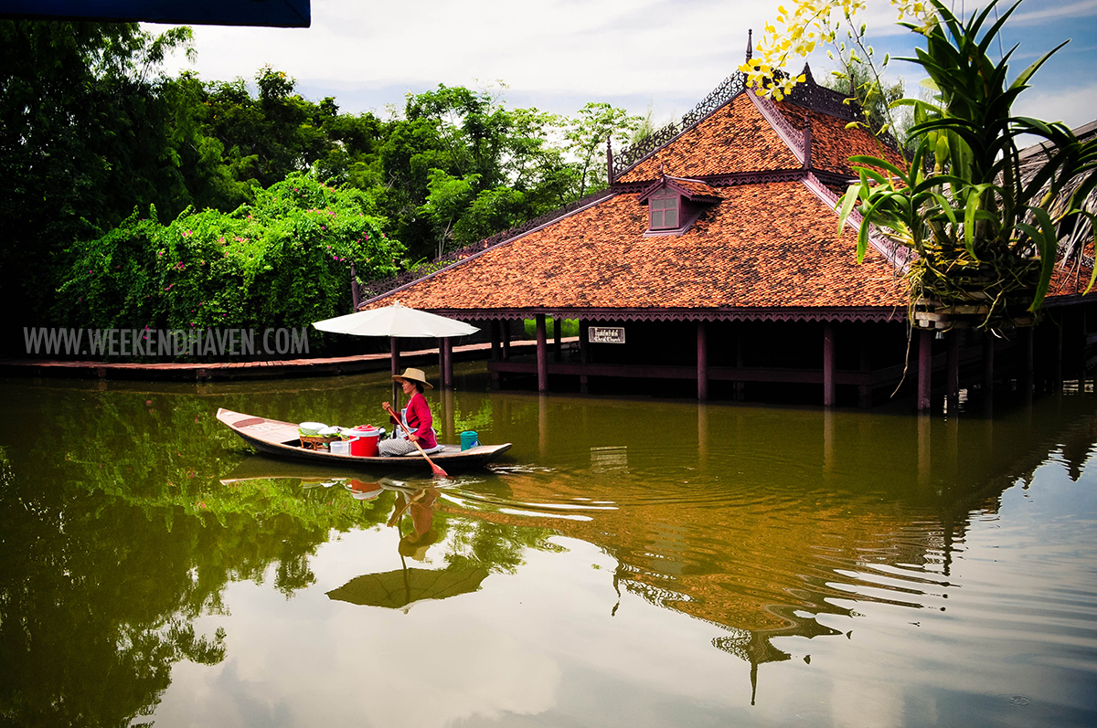 Floating Market at Ancient City