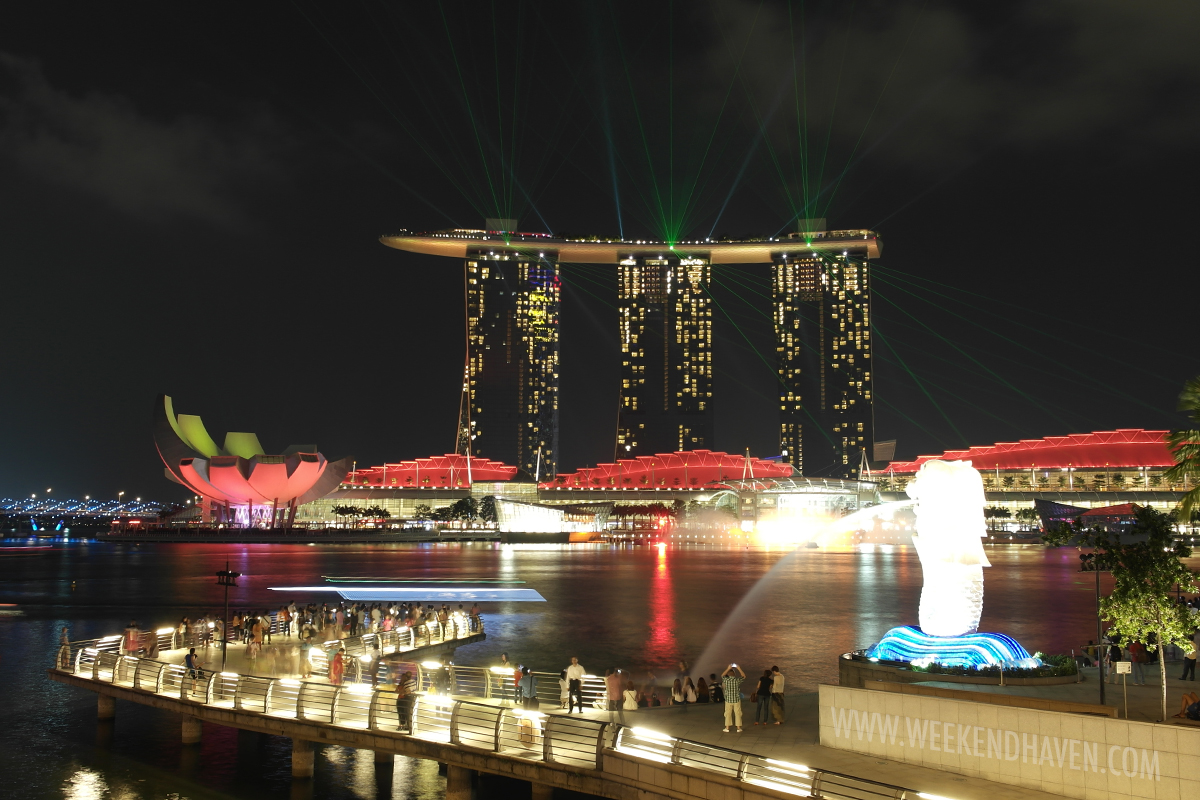 Merlion at Marina Bay Sands