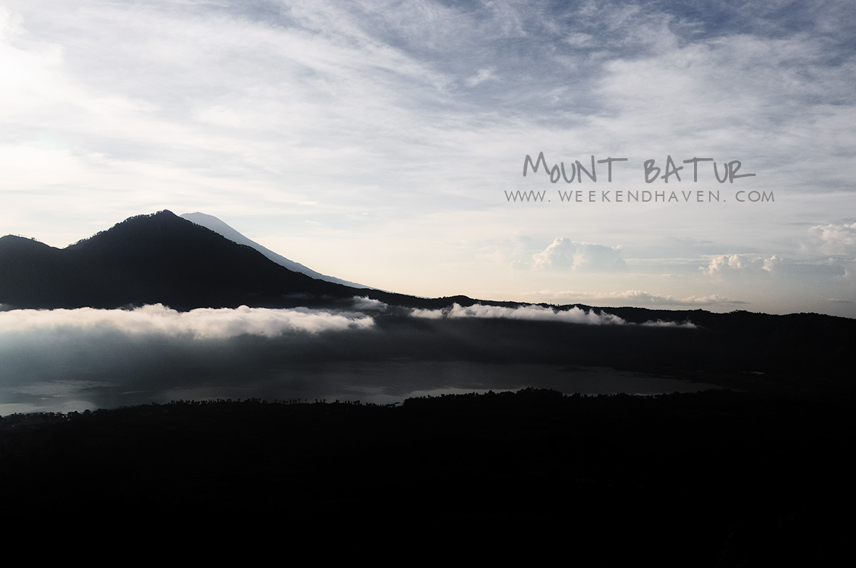 View at the Summit of Mt. Batur