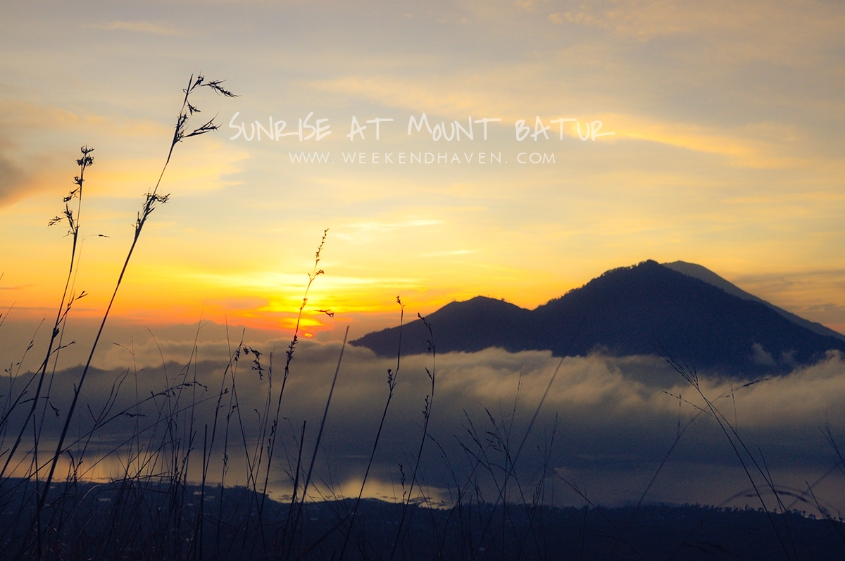 Sunrise at Mt. Batur