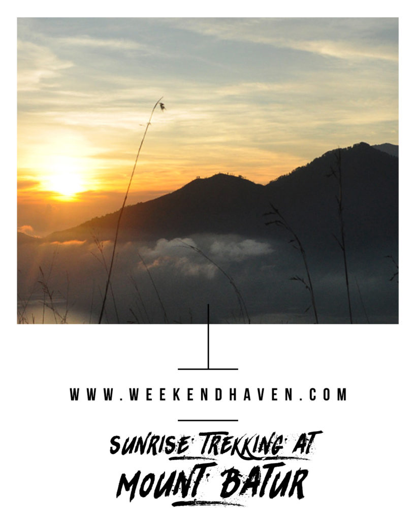 Sunrise Trekking at Mount Batur