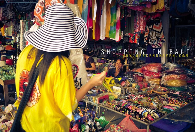 Shopping in Bali