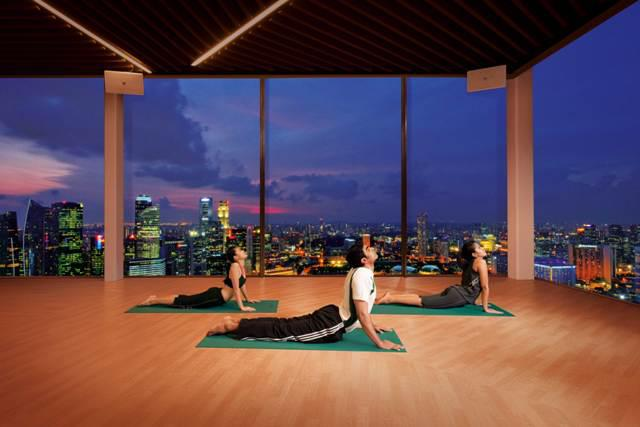 Banyan Tree Fitness Cub Marina Bay Sands