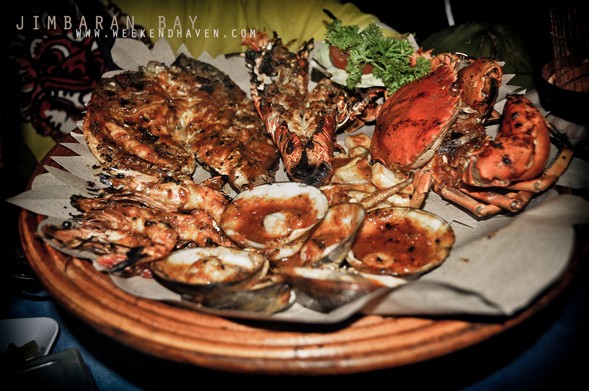 Seafood Dinner at Jimbaran Bay