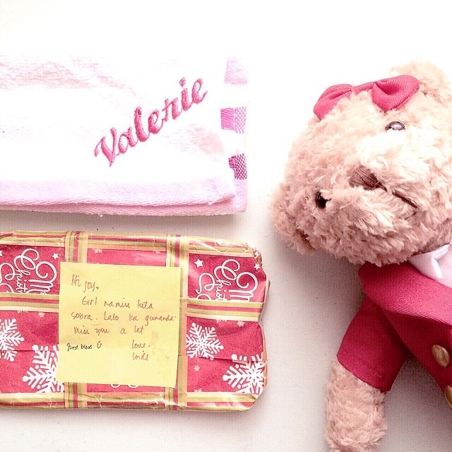Can't get more personalized than this. Thank you Loids! ❤️? Girly Bear from @prettylittlecravings