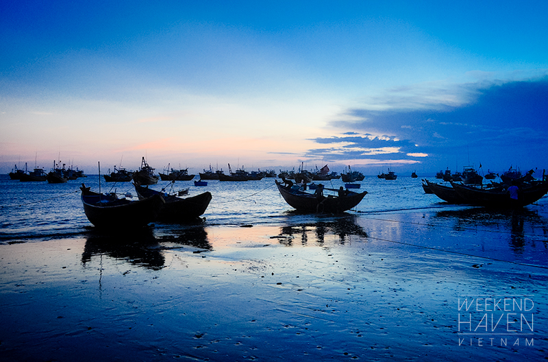 Mui Ne Fishing Village sunset
