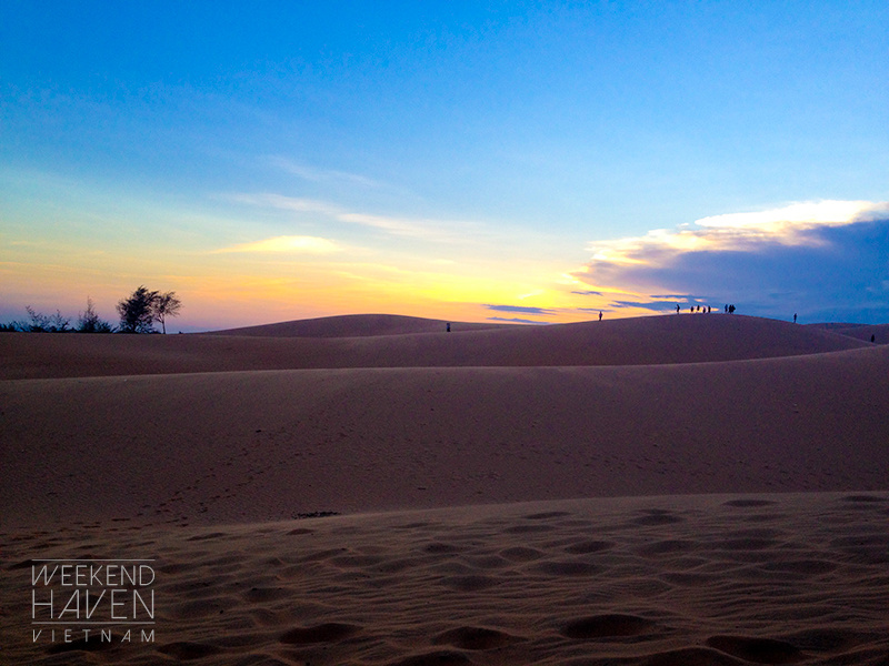 Mui Ne Red Sand Dunes Sunset