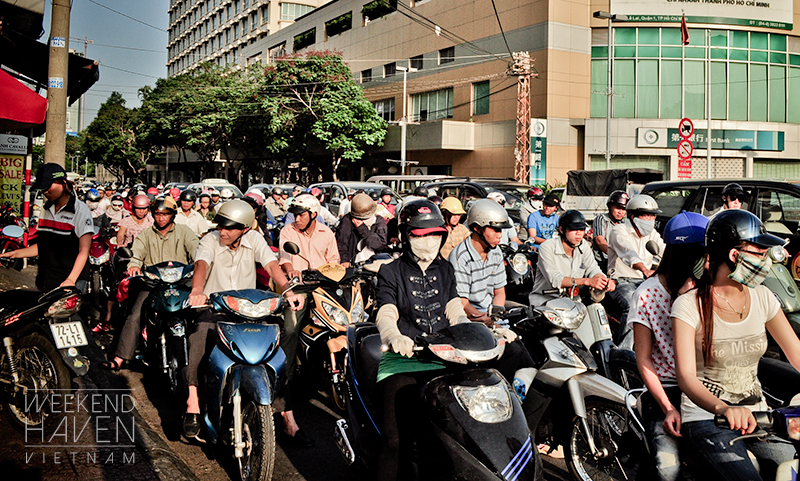 Saigon - Motorbike Capital of the World