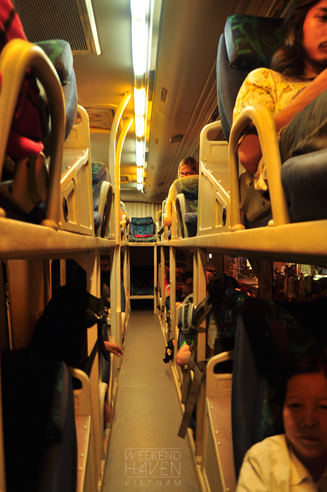 Sleeper Bus from Saigon