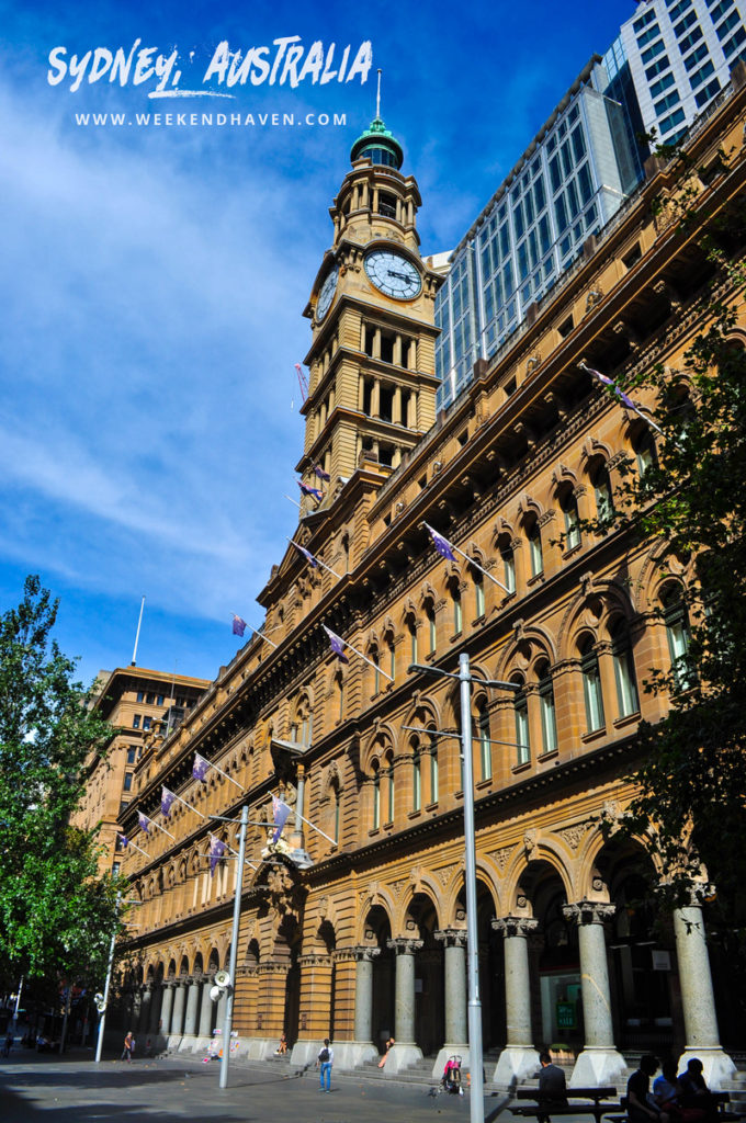 Sydney GPO Clock Tower