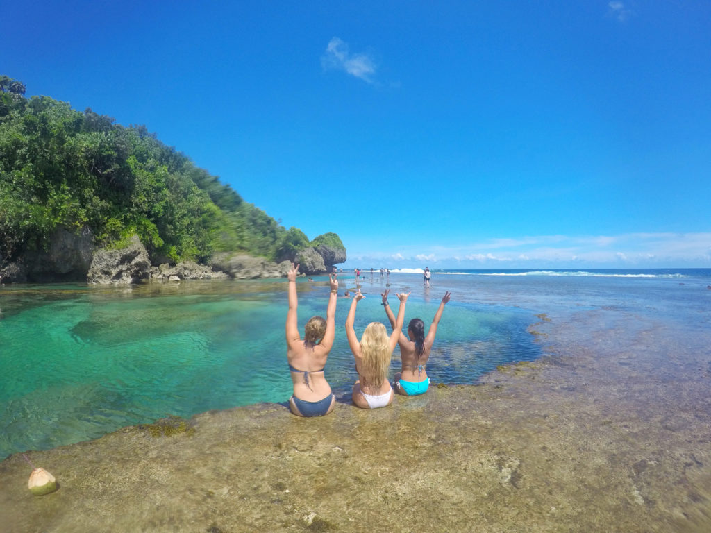 Friends in Siargao Philippines