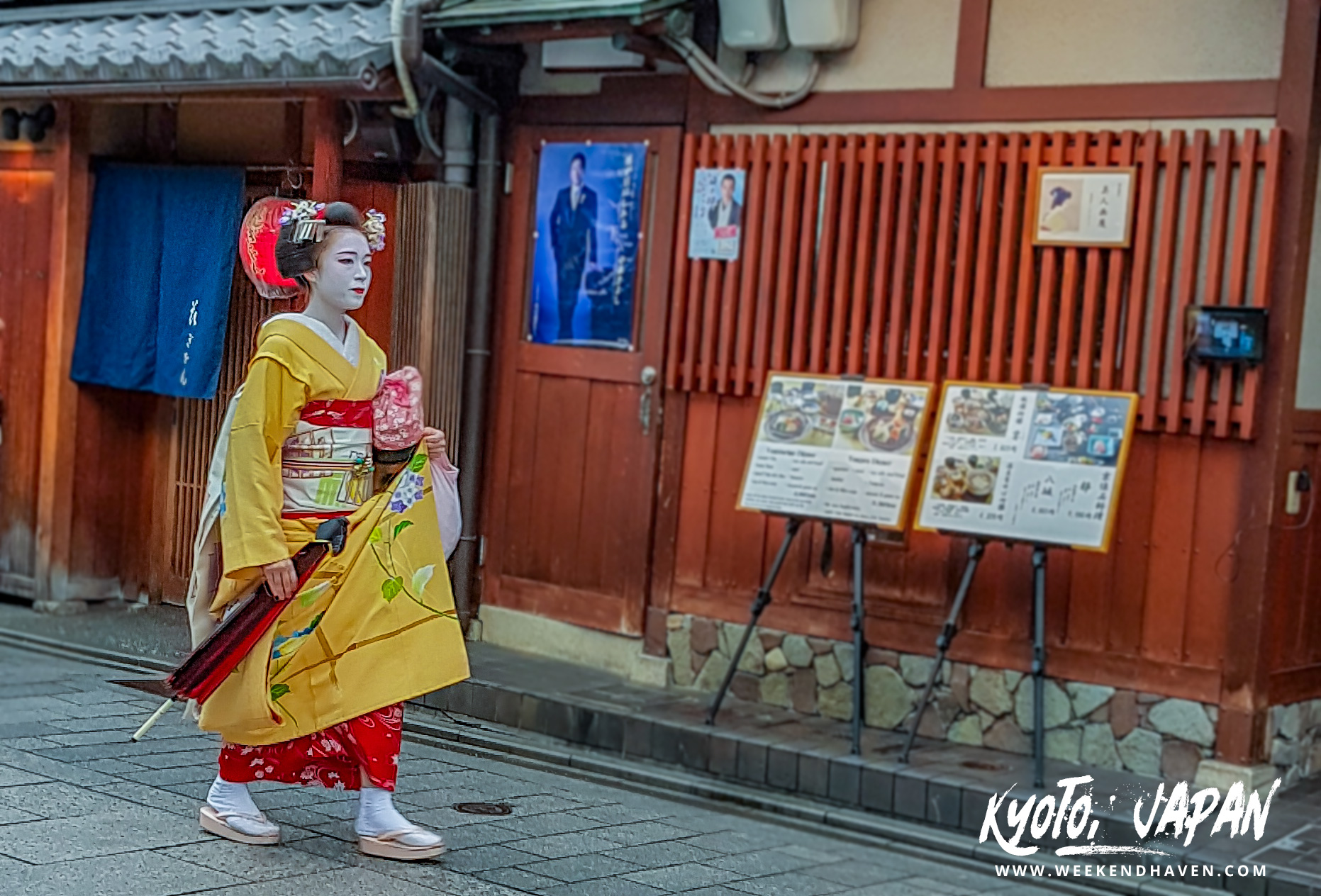 Geisha Sighting in Gion Kyoto