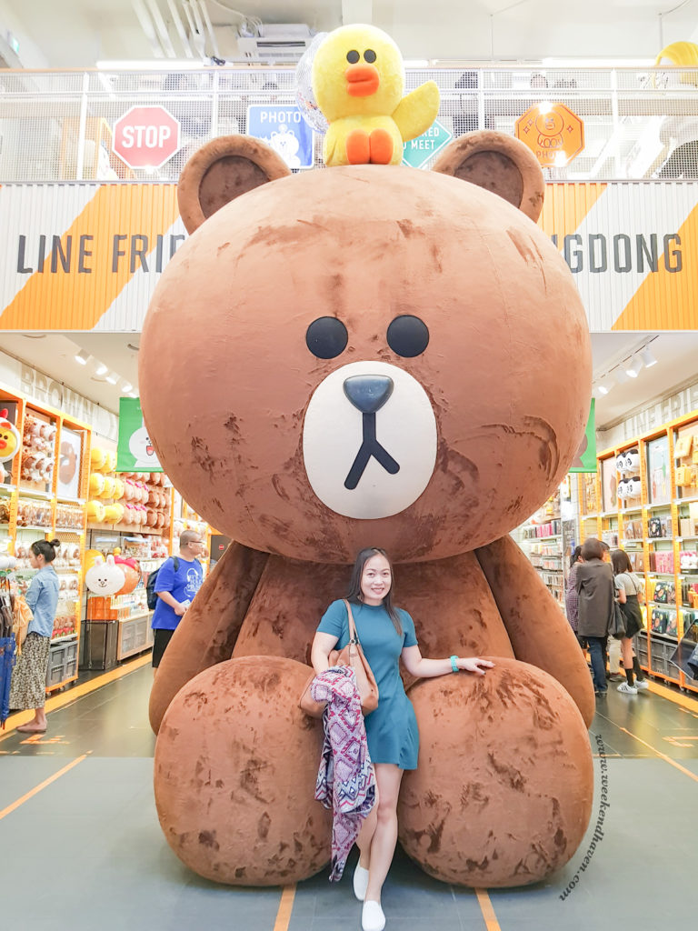 Line Friends Flagship Store Myeongdong Seoul