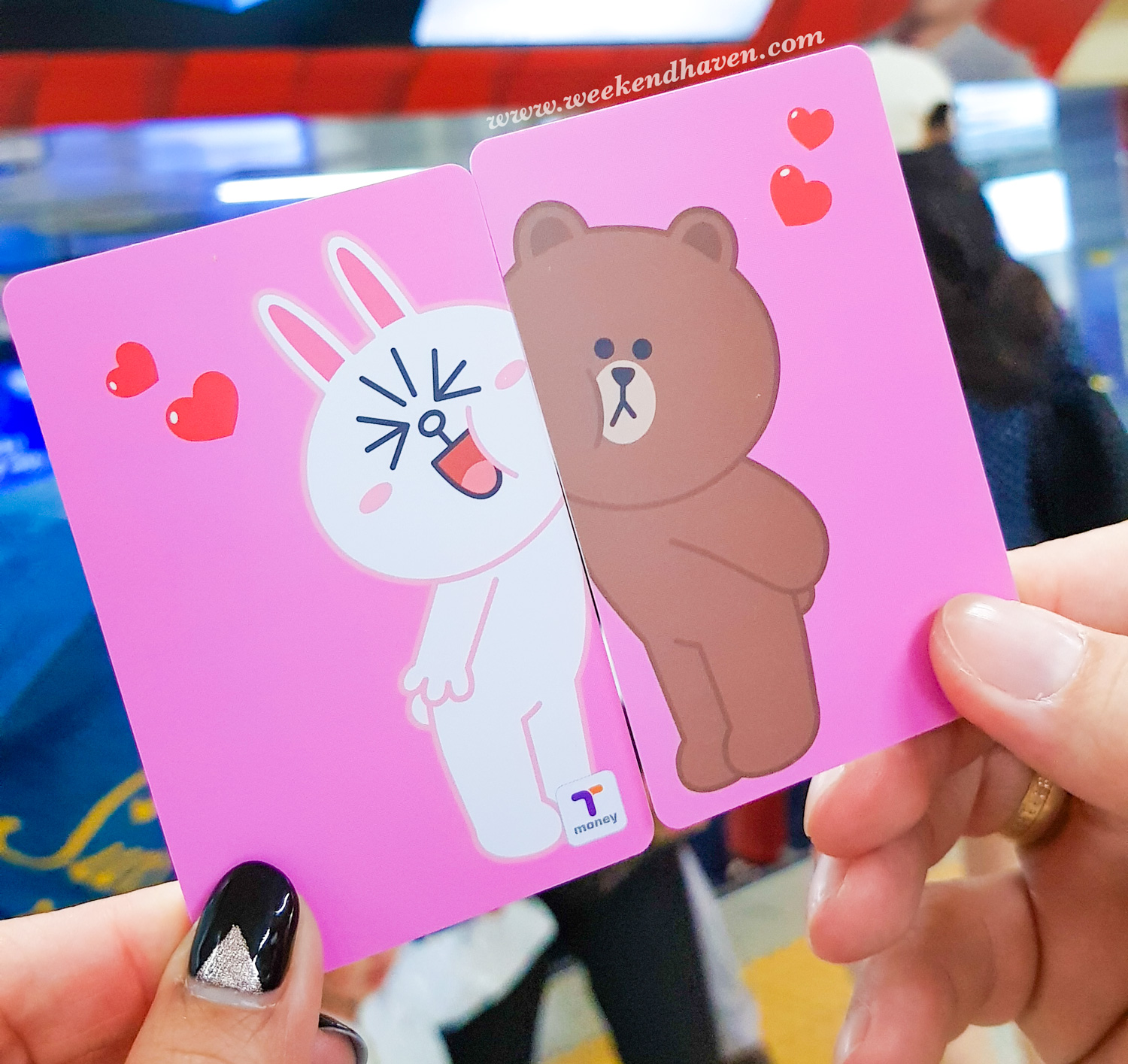 Line Friends T-Money Card