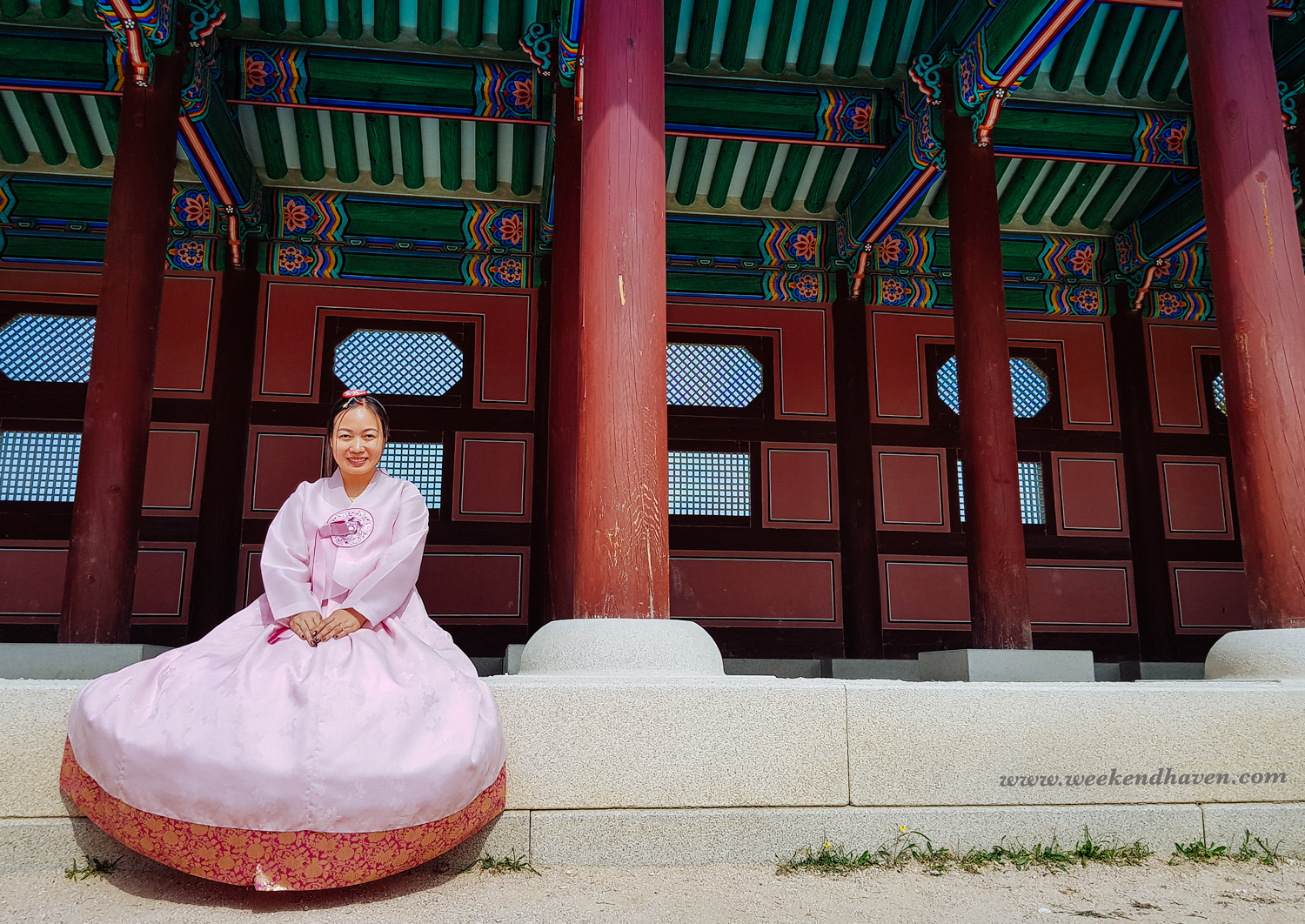 Renting Hanbok around Gyeongbokgung Palace