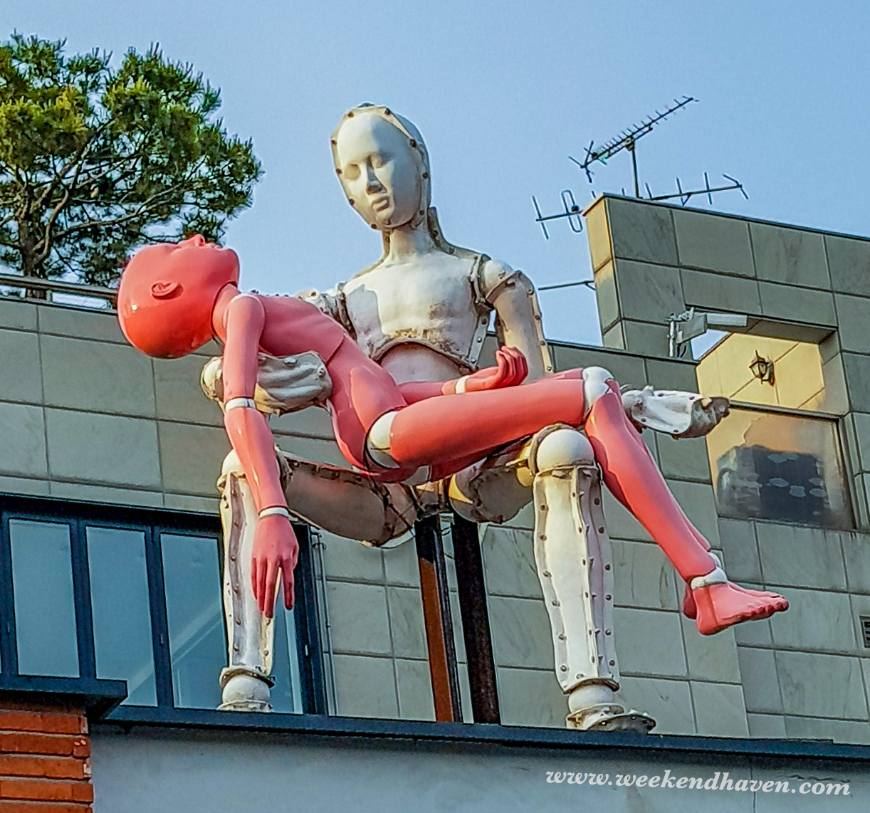 Samcheongdong-gil Art Installations