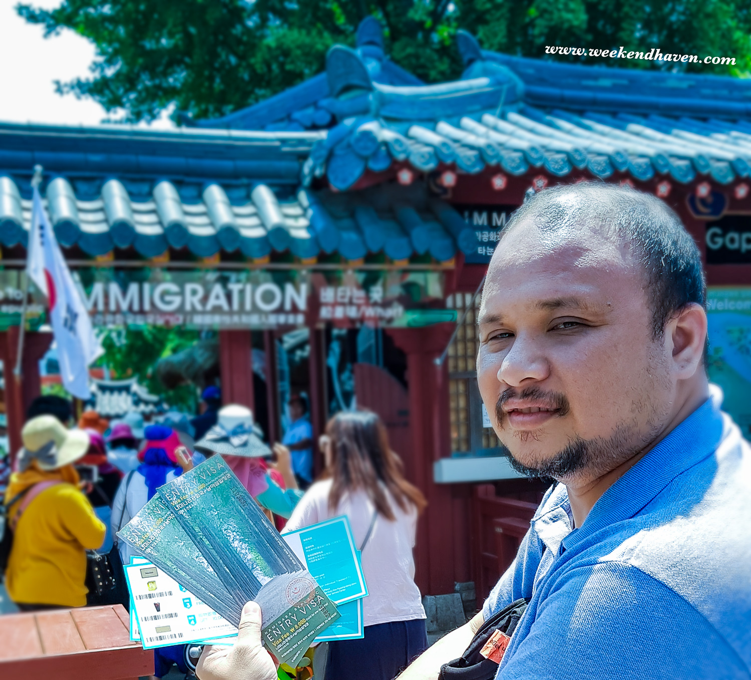 Visa Admission to Nami Island