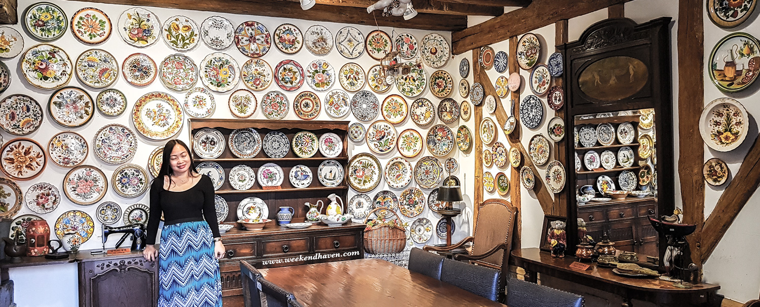 Wall of Plates at Petite France