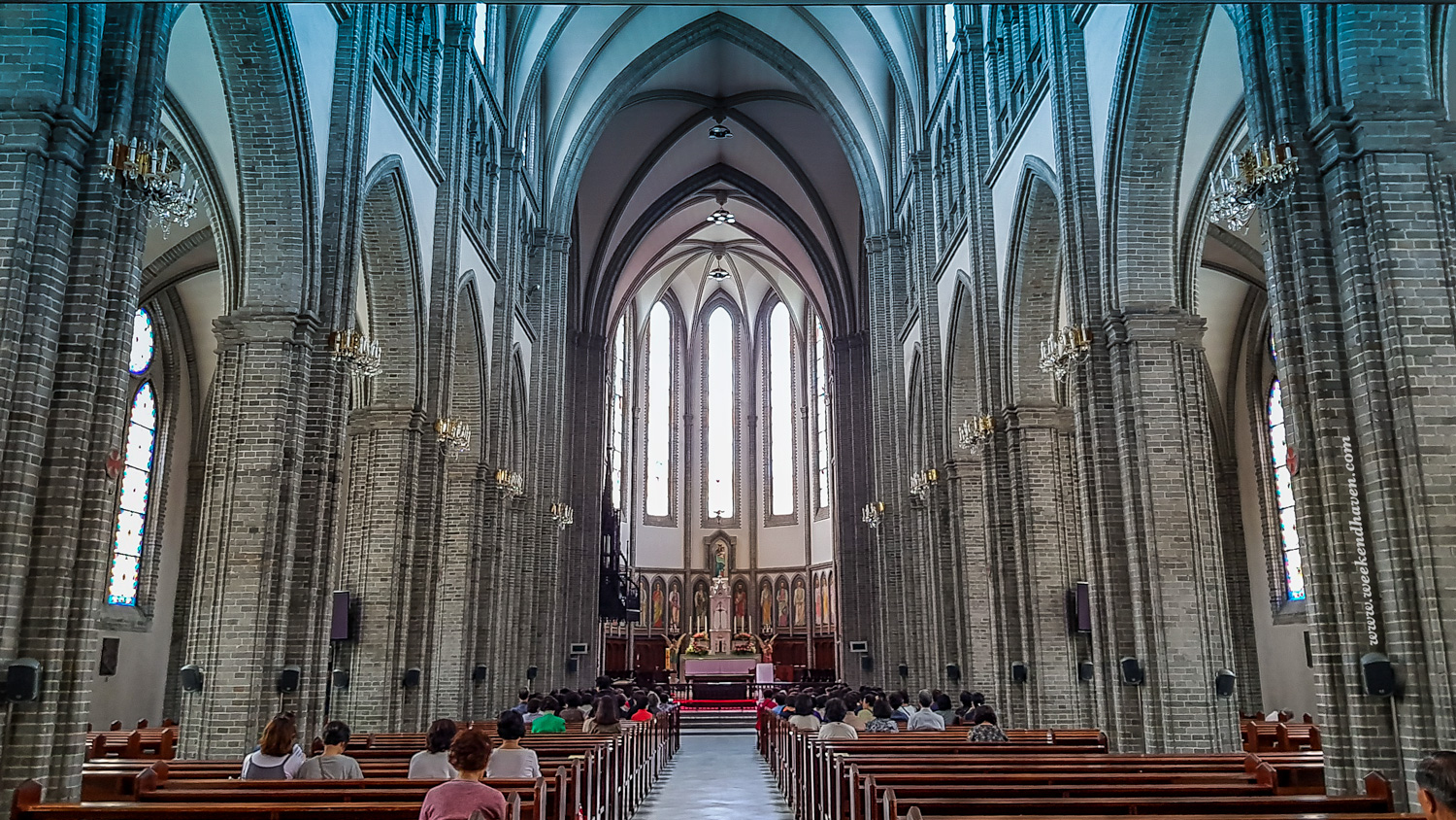 Myeongdong Cathedral Interior