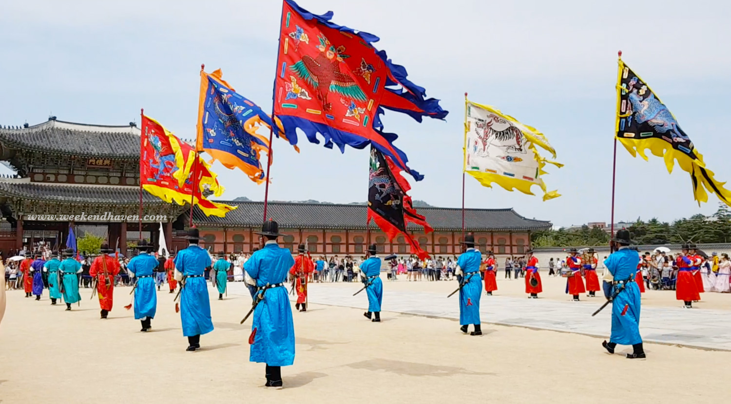 Gyeongbokgung Palace - Changing of Royal Guards