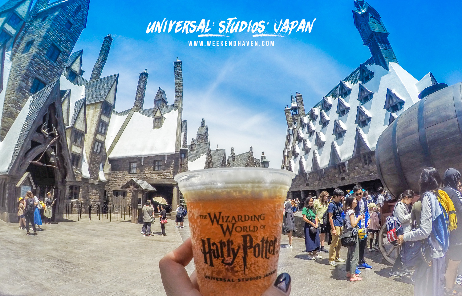 Hogsmead at Universal Studios Japan